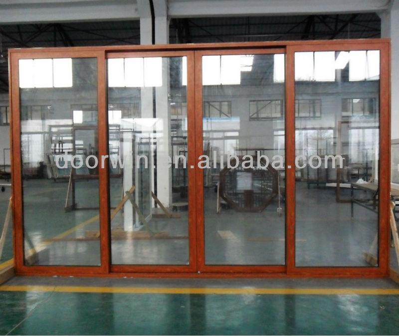 Energy Efficient Aluminium Sliding Patio Doors Wih Double Glass