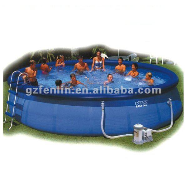 Adulto piscina de pl stico buy product on for Piscinas cuadradas de plastico