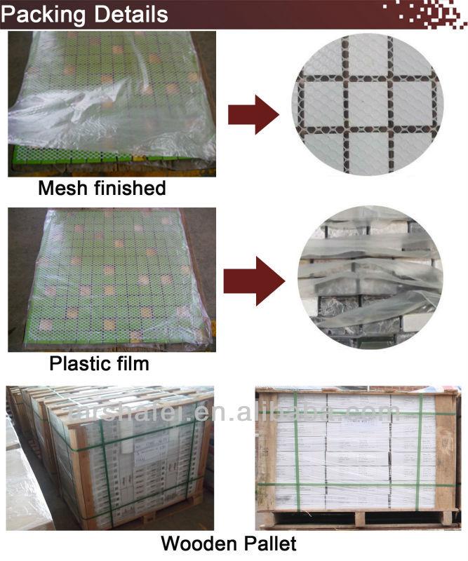 Ceramic Wall Tile,White Marble Mosaic Tile For Living Room