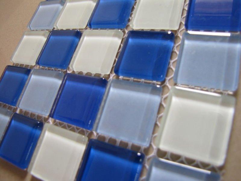 Balkon Tegels Steen : Balkon muur wt017 ontwerpen tegels steen glas blauw mozaïek