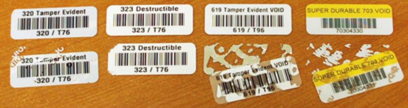 Security Ultra Destructible Vinyl Tracing Asset Tag Do Not