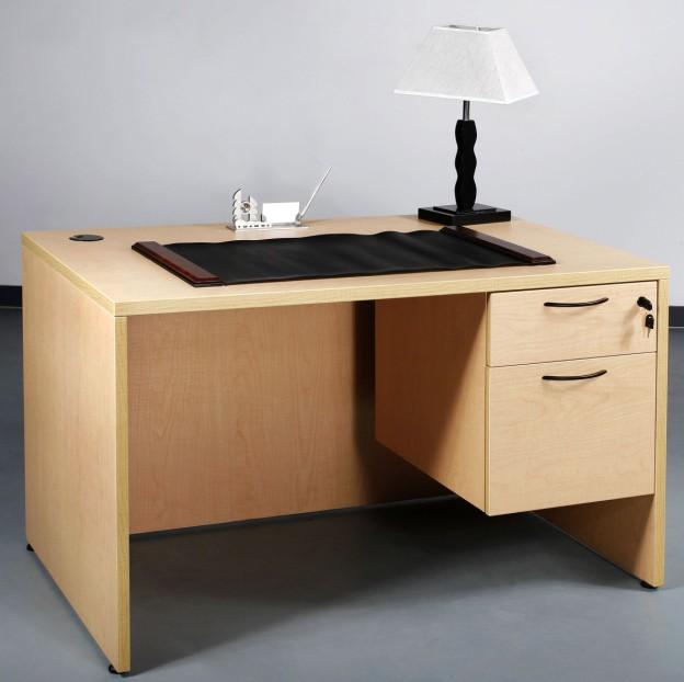 Modern Standard Office Desk Dimensions Drawer Lock