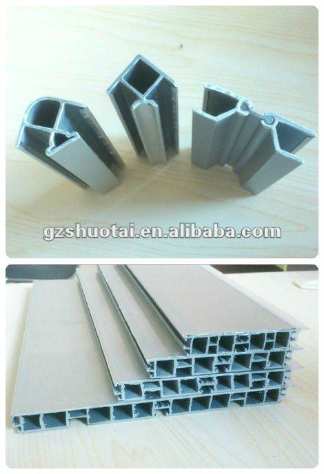 aluminiumfolie sockelleisten,pvc wand sockelleiste,pvc