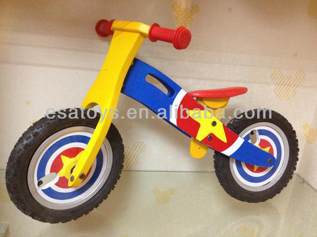 2015 Top Sale Baby Wooden Balance Bike,Interesting Kids Bike ...