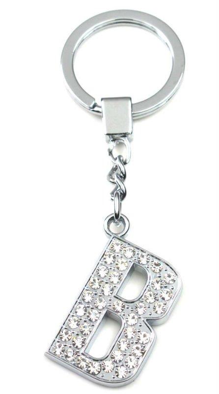 Fashion Letter Key Rings Letter M Keychain Nice Key Chain/key ...