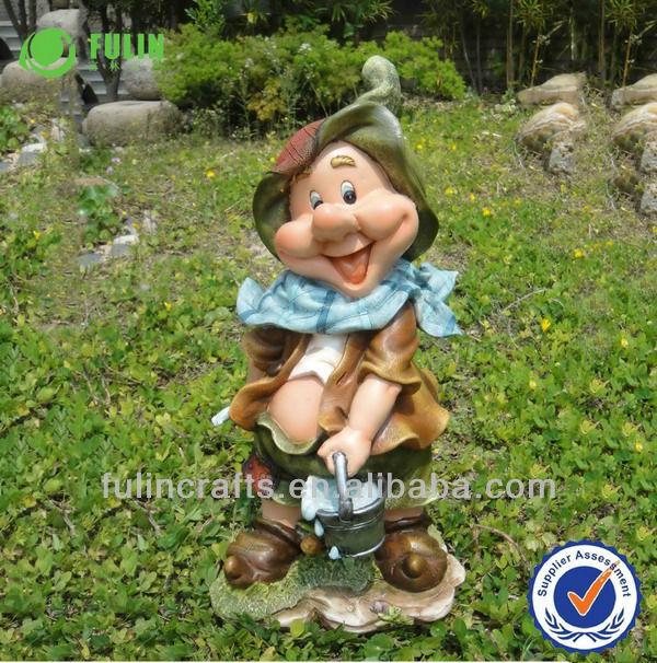 garden figures. Funny Gnome Resin Garden Figures A