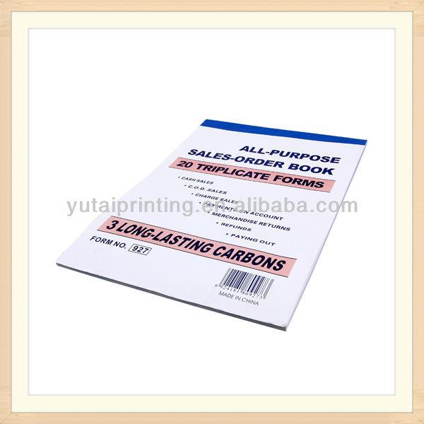 Rent Receipt Book Sample Receipt Book Carbon Paper Receipt Book – Sample of Receipt Book