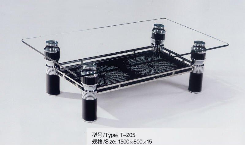 Low Price Fashion Design Furniture Glass Center Table