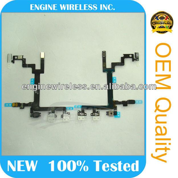 Smartphone Repair Parts For Apple Iphone 5 Volume Flex Cable