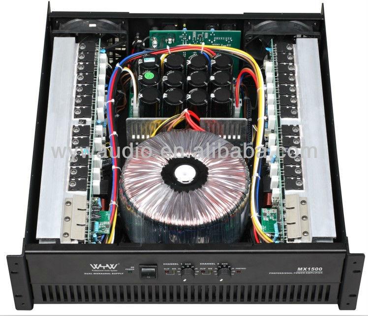 Power Amplifier Mx1500,1500w,High Power - Buy Pro Audio,Pro Stage ...