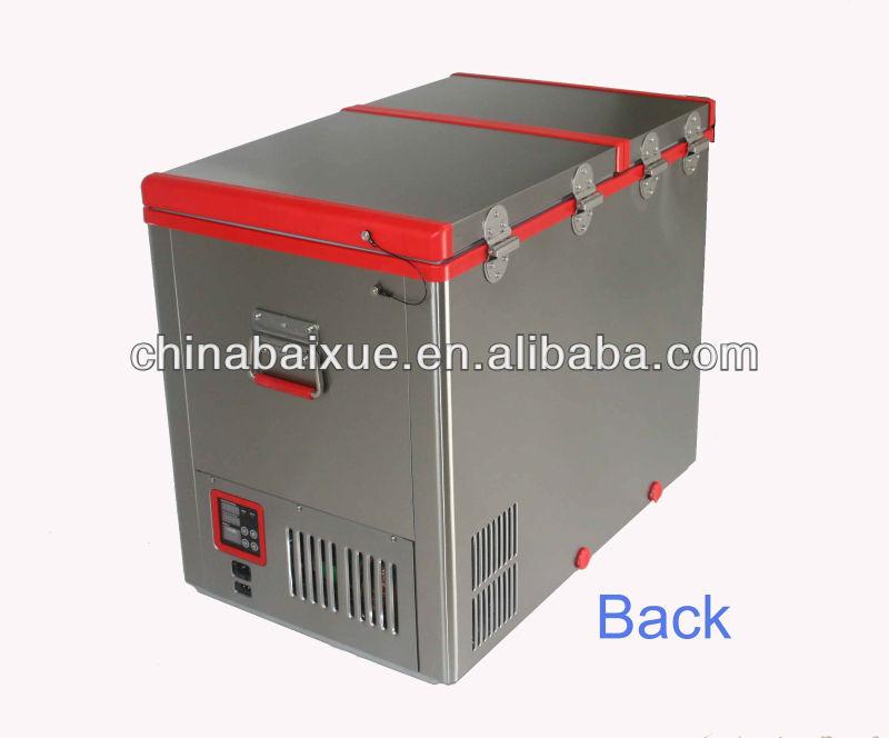 Auto Kühlschrank Mit Gefrierfach : Kühlschrank auto gefrierschrank liter doppeltür auto
