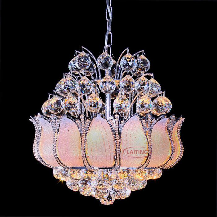 Entzuckend Phantasie K9 Kristall Kronleuchter Fancy Glas Blume Kristallkugel Kronleuchter  Indien Kronleuchter Beleuchtung 72033