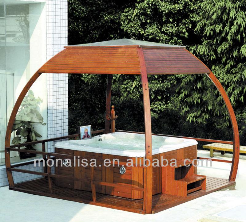Garden Furniture Gazebo monalisa outdoor luxury plastic gazebo/luxury garden furniture