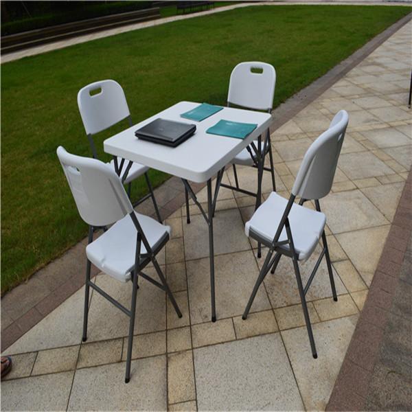 87 cm mesa plegable cuadrada interior al aire libre mesa for Mesa plegable para balcon