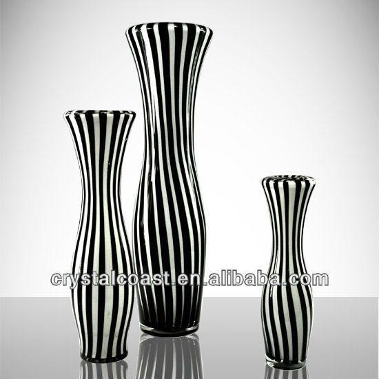 tall black and white glass vases wholesale for vase for flower arrangement