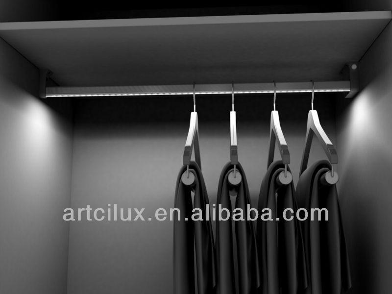 adapter gevoed slaapkamer kast led verlichting op batterijen