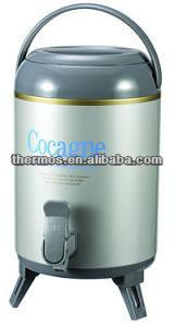 hot china products wholesale 38l one tap metal water jug cooler thermal dispenser - Water Jug Dispenser
