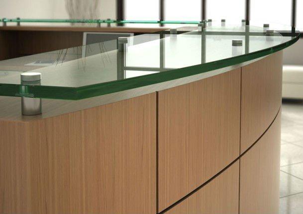 Moderno Muebles De Recepción Diseño Recepción Mostrador De Recepción ...