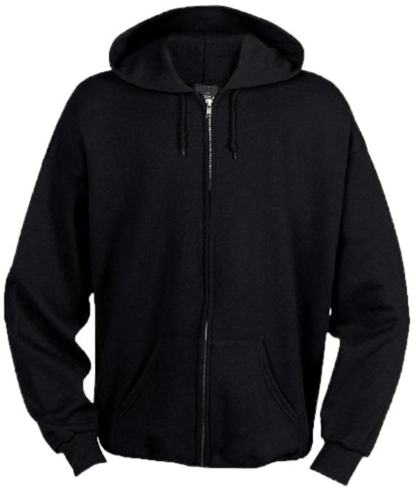 Character Sweater Men Cotton Black Plain Side Zip Up Hoodie - Buy ...