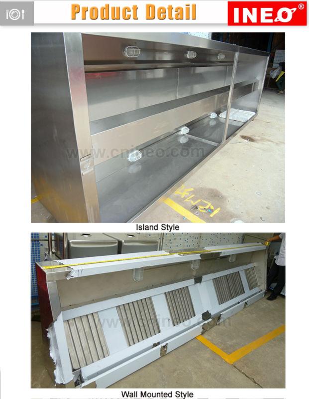 Restaurant Kitchen Hoods Stainless Steel custom commercial stainless steel restaurant kitchen range hood