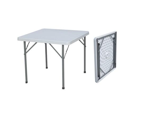87 cm mesa plegable cuadrada interior al aire libre mesa for Mesa plegable plastico