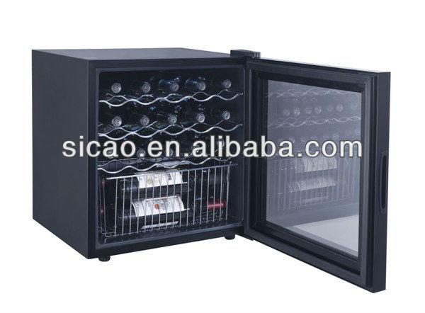 Minibar Kühlschrank Glastür : Kleiner kühlschrank ohne gefrierfach mit glastür flasche