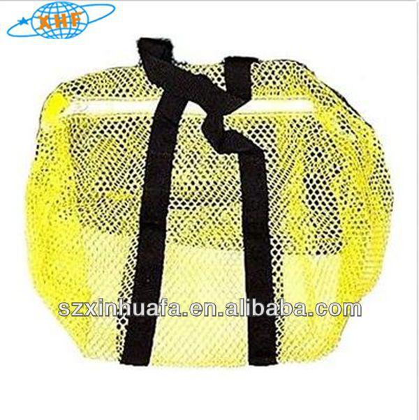(XHF-TRAVEL-100) small mesh net bags small mesh zipper bags small nylon mesh bags