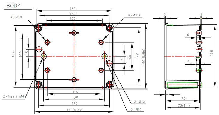 Standard Junction Box Sizes High Voltage Switchgear Ds Ag