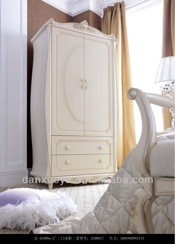 marocaine mexique style bois blanc couleur chambre meubles 2 porte de larmoire jlbh017