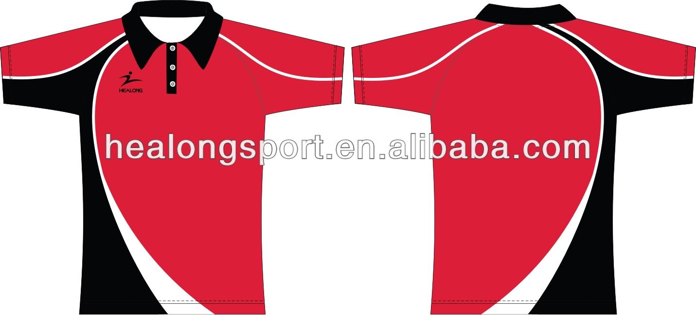 Design t shirt uniform - Custom Design Polo Shirt With Collar Stand
