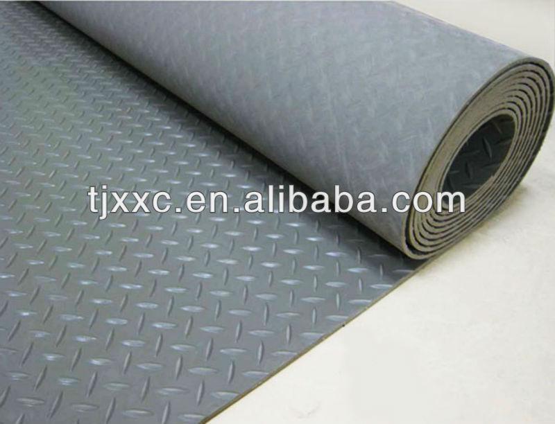 Elegant Diamond Plate Rubber Mats