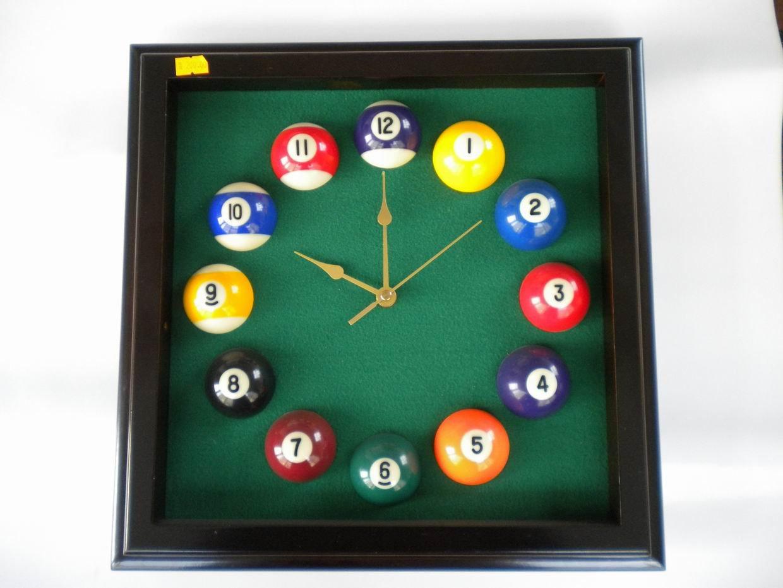 Leqi Billiard Clock Pool Table Clock Buy Pool Table