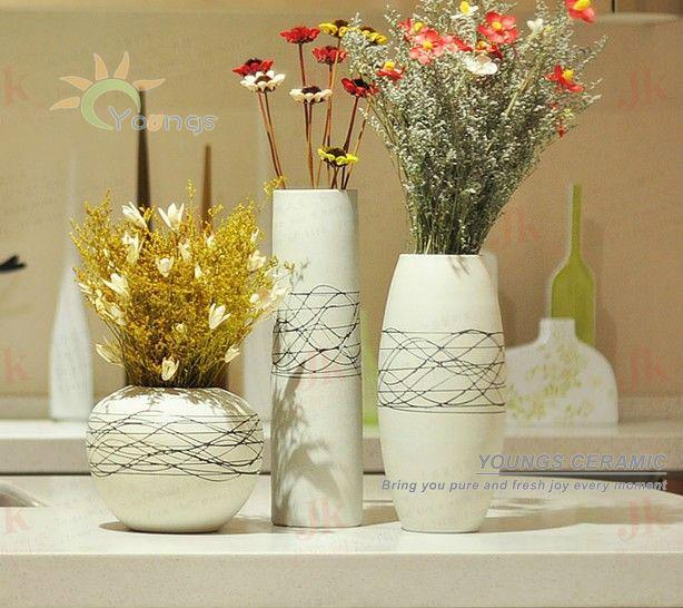 Home decorativo dipinto a mano in ceramica vasi di fiori for Vasi arredamento moderno