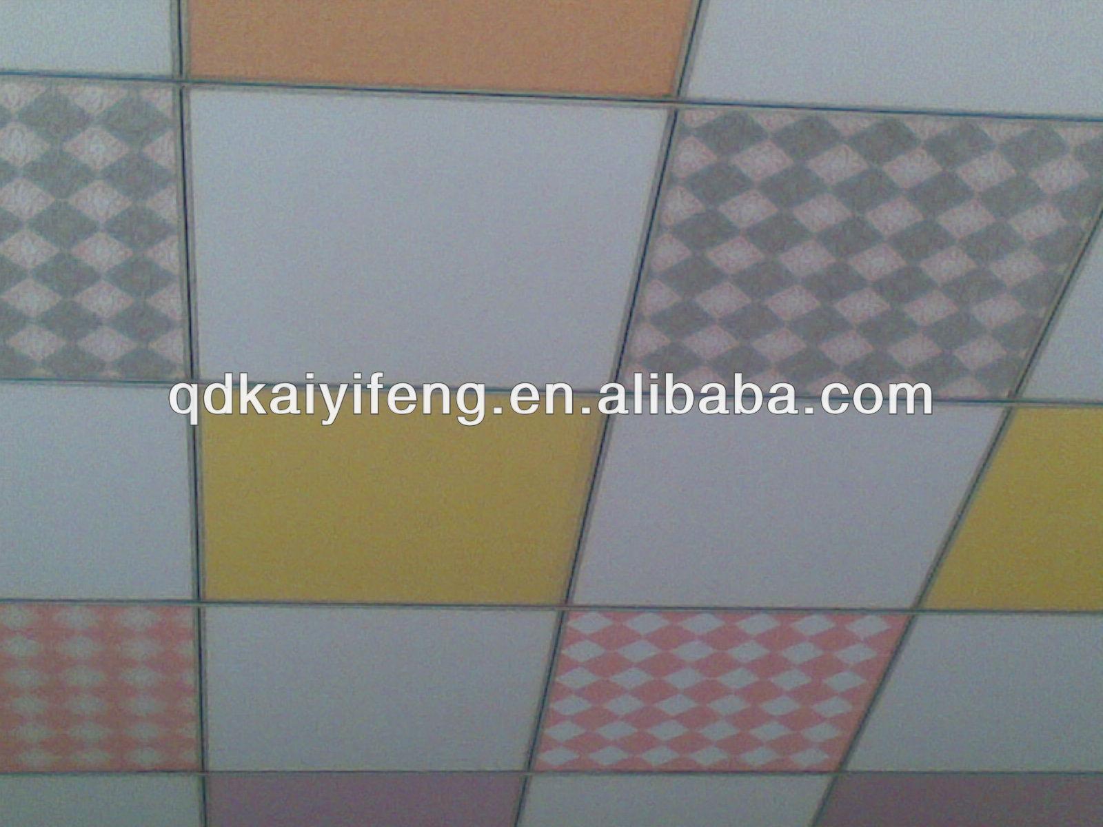 Vinyl laminated gypsum ceiling tiles design buy gypsum ceiling vinyl laminated gypsum ceiling tiles design dailygadgetfo Images