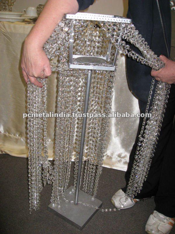 Wedding Candelabra Crystal Candelabra Silver Candelabra Crystal Wedding Ceremony Decorations For
