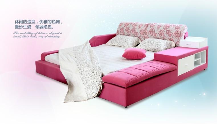 rosa tatami cama de diseo para nias y nios