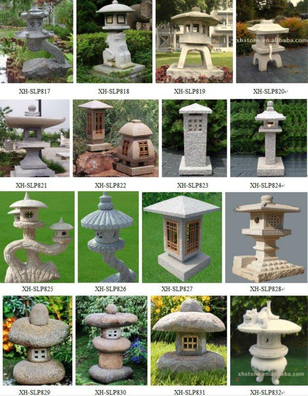 Granite Japanese Garden Stone Pagoda (23 Years Factory)