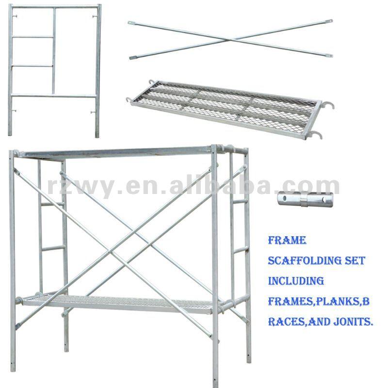 Steel Scaffolding Parts : British standard scaffolding parts scaffold frame buy
