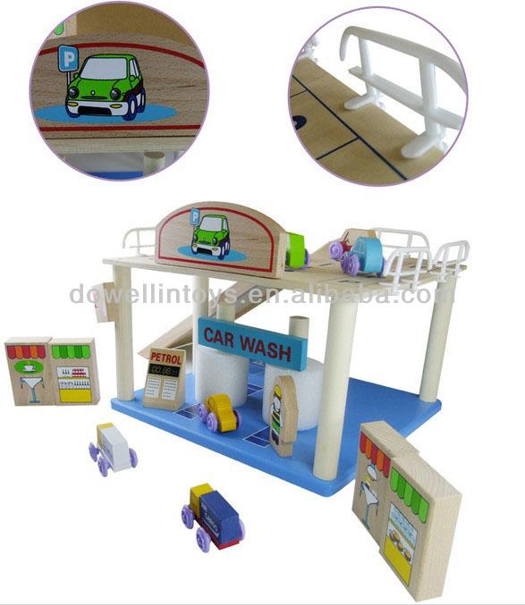car packing garage toykids toy car garagewooden toy garage