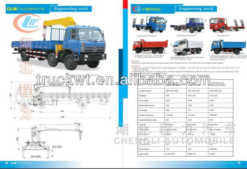 6x4 Foton Auman Flatbed Truck 25ton
