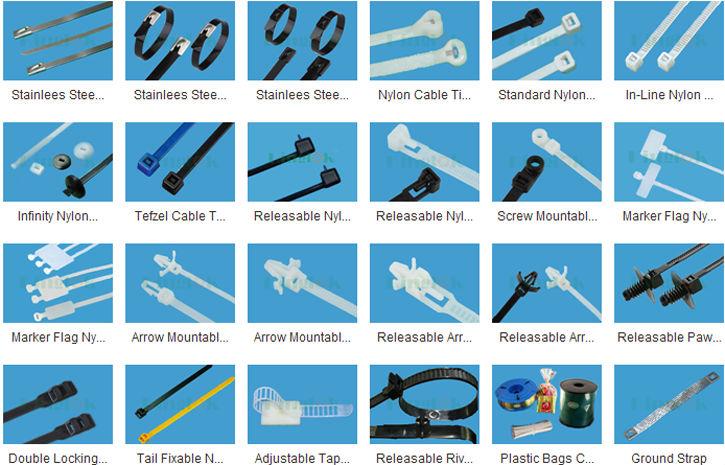 85c5cfa14a4c Marker Flag Nylon Wrap-it Tie Cable Tie With Label Nylon Cable Tie ...