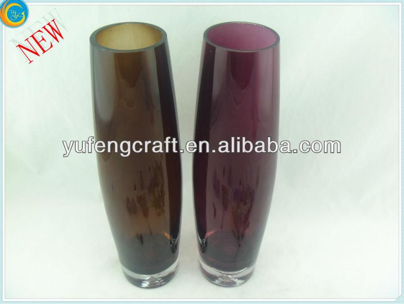 piso floreros de cristal para decorar barro jarrones terrario de cristal