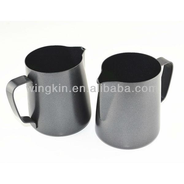 350ml 600ml teflon milk frothing pitcher milk jug