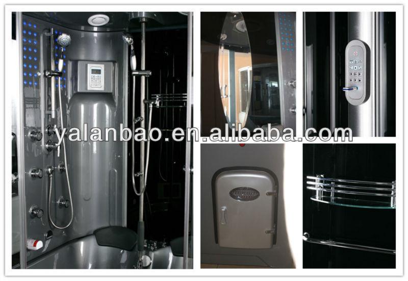 G165 massage shower unit steam spa massage combination