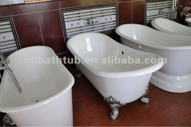 Vasca bateau da bagno in ghisa smaltata con i piedi buy - Vasche da bagno particolari ...