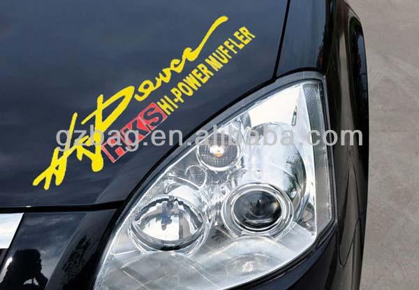 Happy family car stickers designmatte black car sticker