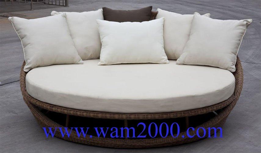 Patio Garden Aluminum Round Pe Rattan Chair For Outdoor Buy Pe