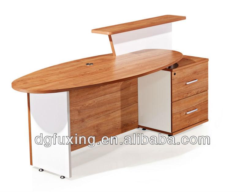 Simple Design Restaurant Reception Desk, China Supply Reception Front Desk