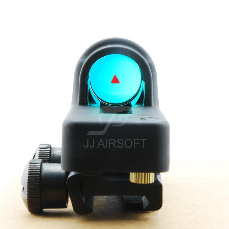 ג ' יג ' י איירסופט RX06 רפלקס משולש Reticle נקודה אדומה RX06 רפלקס הראיה משלוח חינם(ePacket/הונג קונג הודעה דואר אוויר)