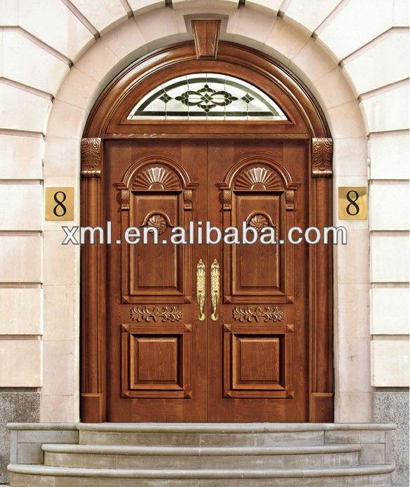 european style carved solid teak wood double doors & European Style Carved Solid Teak Wood Double Doors - Buy Solid ...